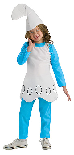 Child Smurfette Costume
