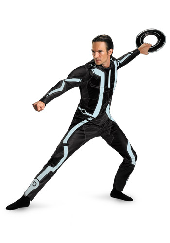 Adult Deluxe Tron Costume