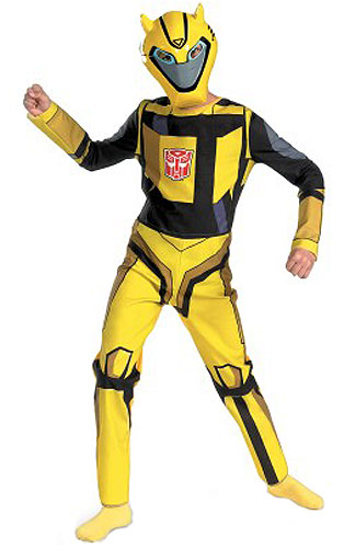 Child Cartoon Bumblebee Costume
