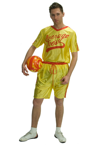 Mens Average Joes Dodgeball Costume
