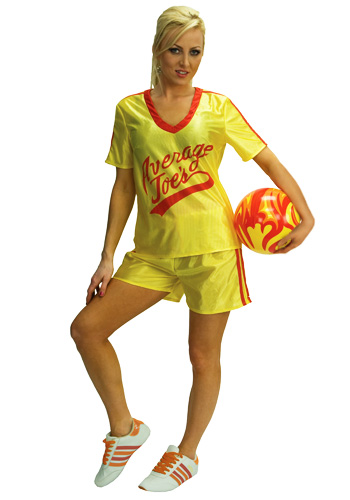 Womens Average Joes Dodgeball Costume