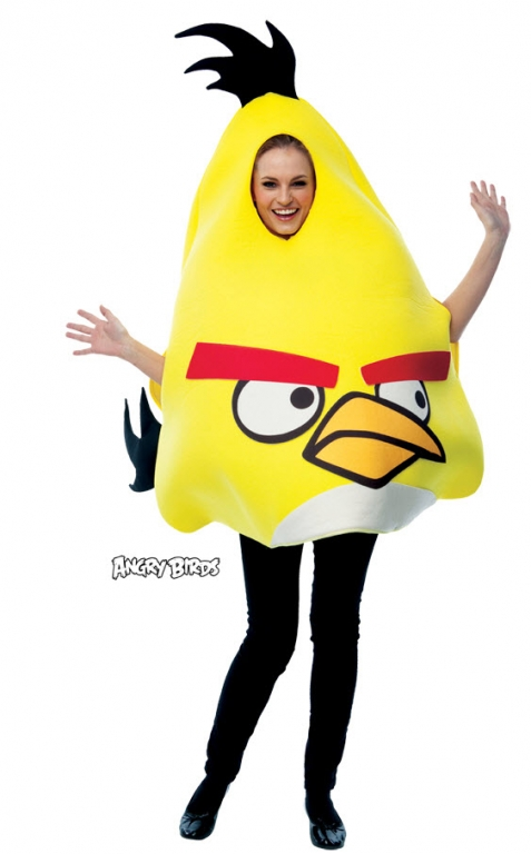 Angry Birds Yellow Costume