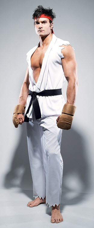 Street Fighter Ryu Adult Costume