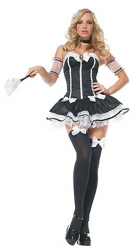 Charming Chambermaid Costume