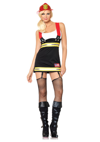 Firefighter Babe Costume