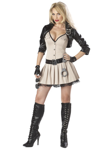 Highway Hottie Cop Costume