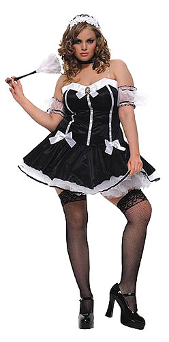 Plus Size Charming Chambermaid Costume