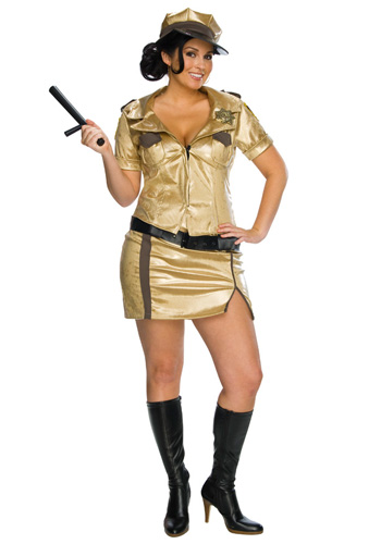 Plus Size Sexy Deputy Johnson Costume