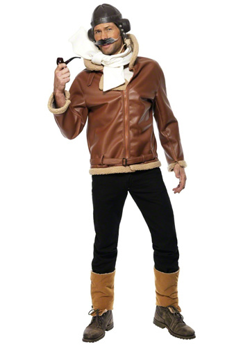 Mens Classic Aviator Costume