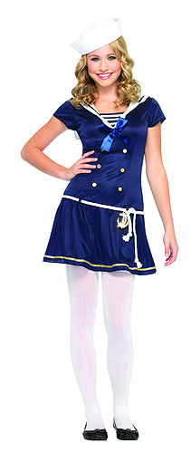 Teen Girls Sailor Costume