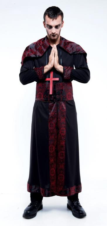 Endless Options Black and Red Robe Adult Costume