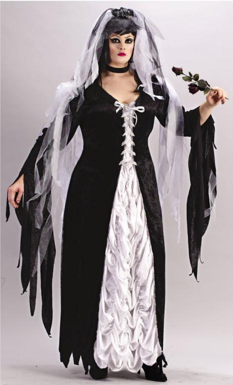 Bride Of Darkness Plus Size Adult Costume