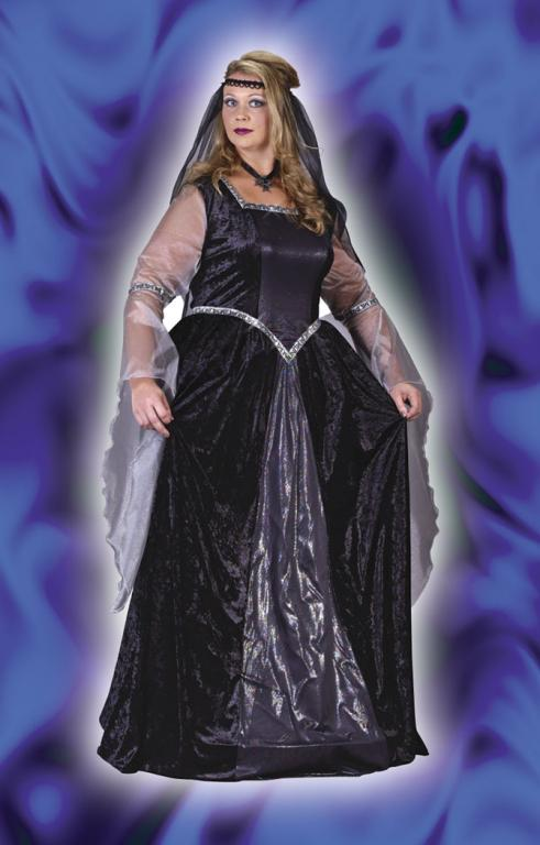 Queen Of The Night Plus Size Adult Costume