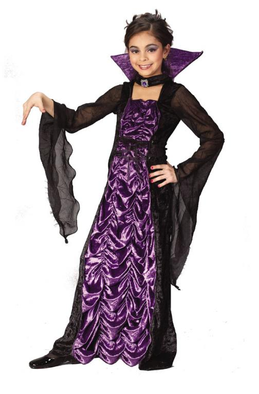 Countess Of Darkness Child Costume