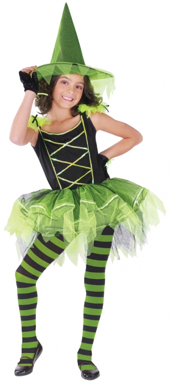 Ballerina Witch Child Costume