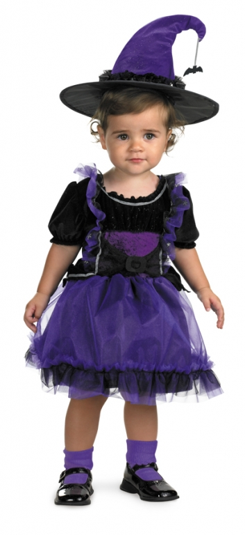 Frilly Witch Toddler Costume
