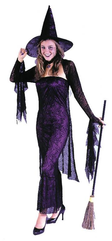 Black Widow Witch Adult Costume