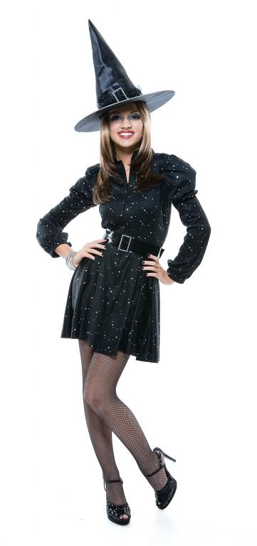 Dazzling Witch Teen Costume