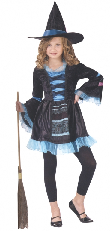 Sassy Victorian Witch Child Costume