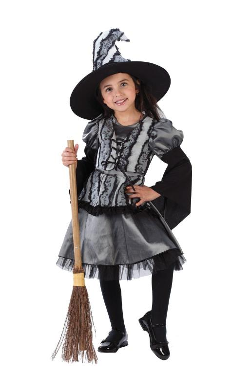Goth Rose Witch Toddler Costume