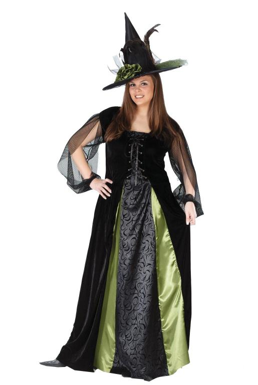 Witch Goth Maiden Plus Size Adult Costume