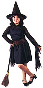 Witch Of The Web Child Costume