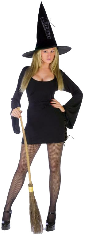 Witch Tied Up Adult Costume