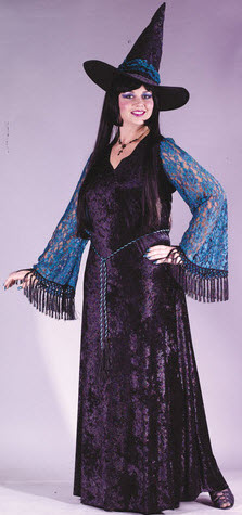 Gothic Lace Witch Adult Costume