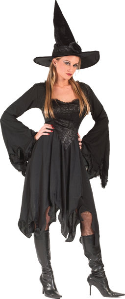 Black Rose Witch Adult Costume