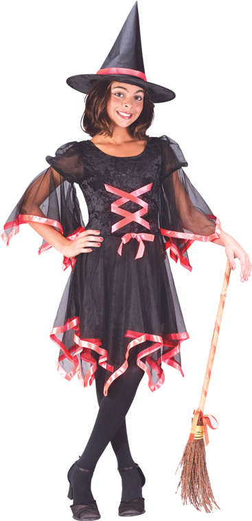 Ribbon Witch Child Costume