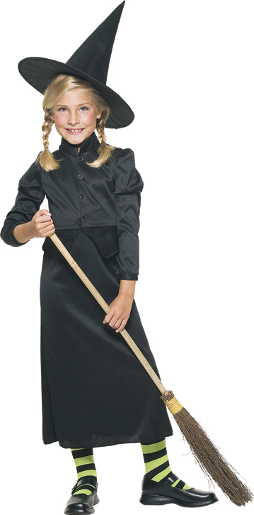 Witchy Witch Child Costume Large