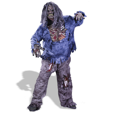 Complete Zombie Plus Adult Costume