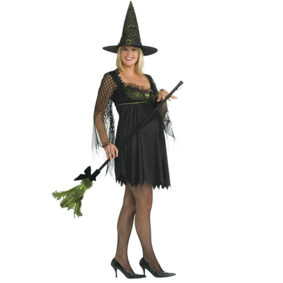 Mommy To Be Witch Adult Costume