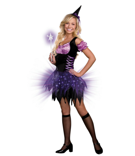 Switch Witch (Light-Up) Teen Costume