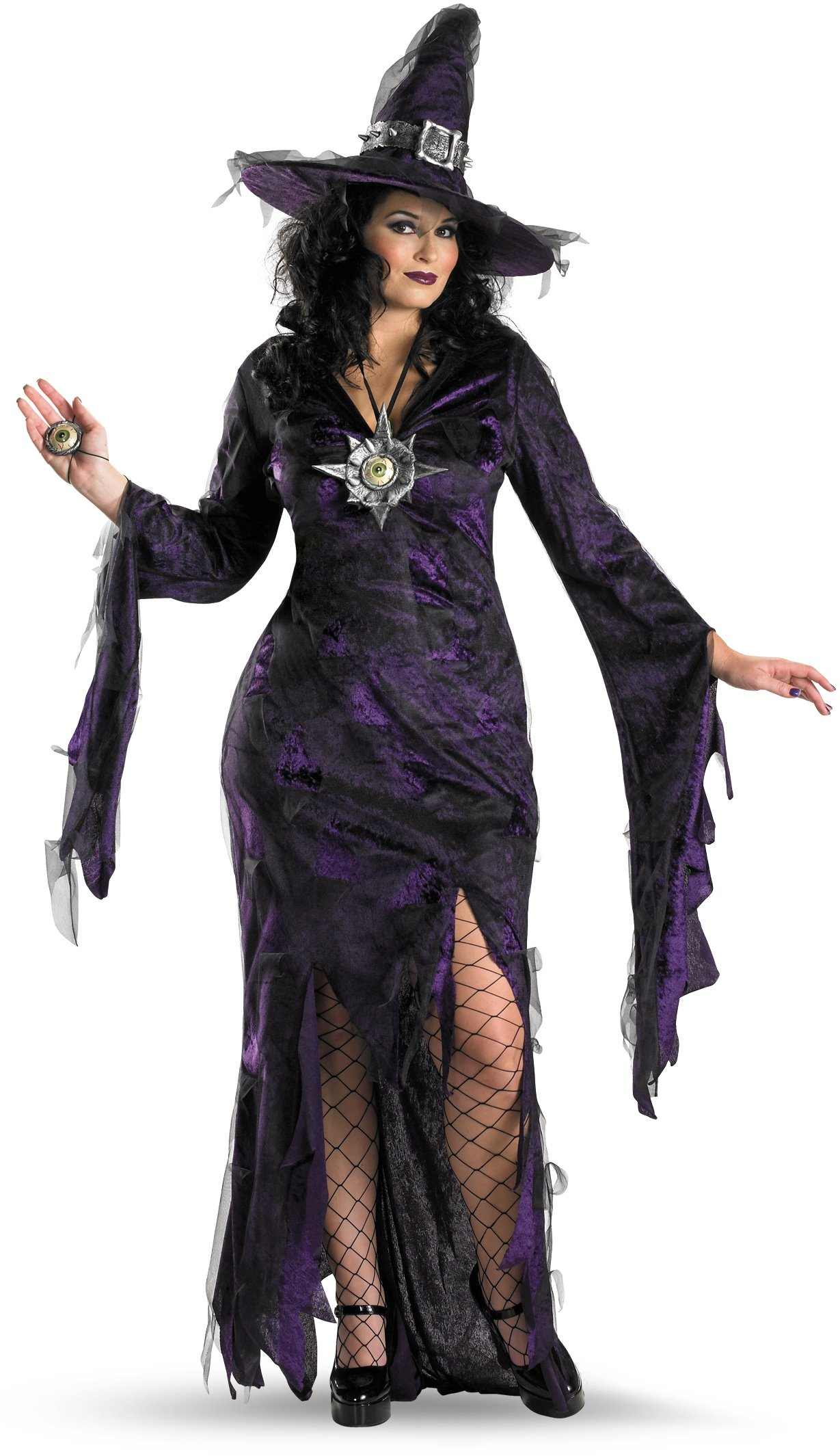 Sorceress Adult Plus Costume