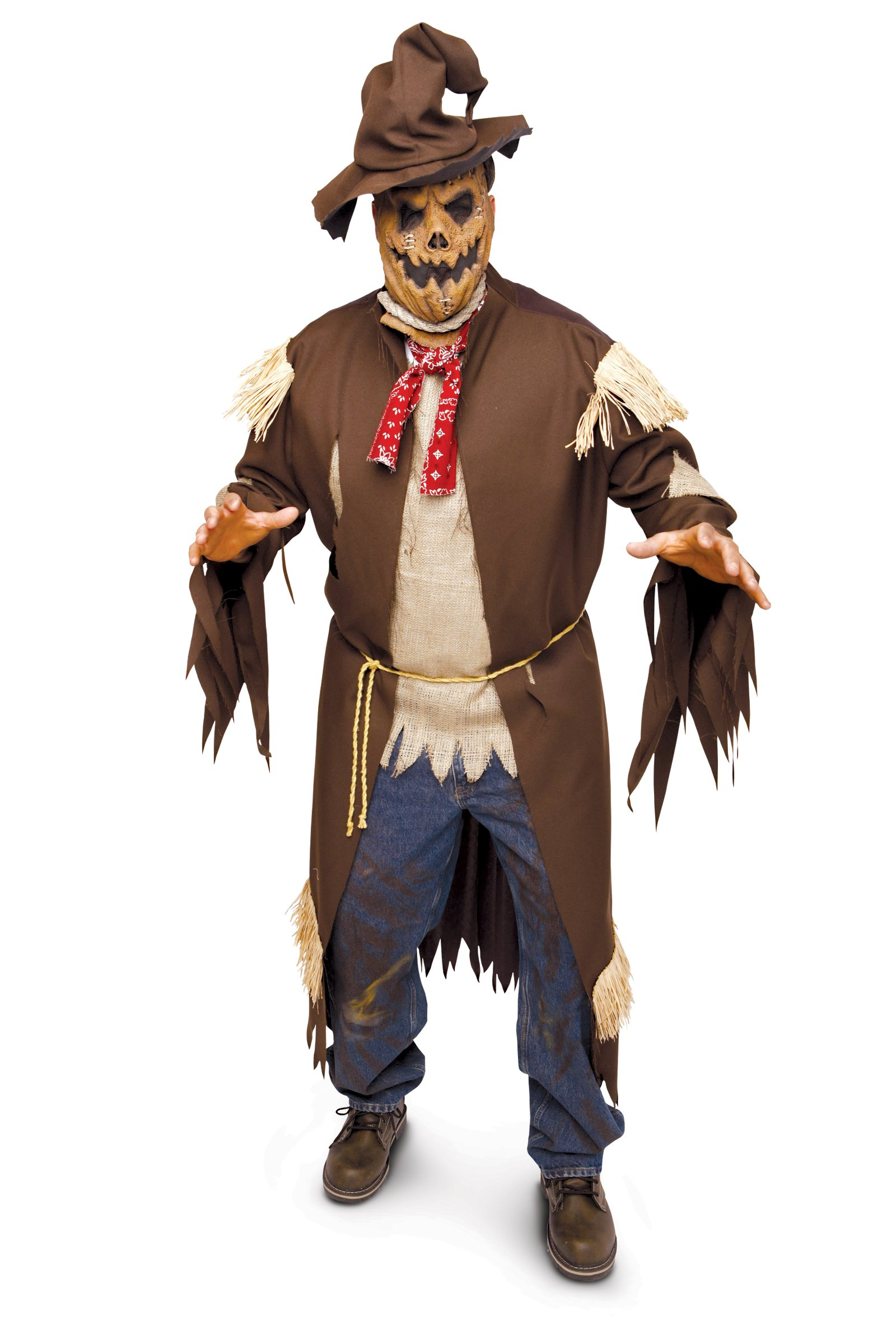 Deathcrow Scarecrow Adult Plus Costume
