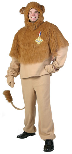 Plus Size Storybook Lion Costume