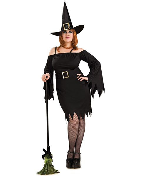 Plus Size Wicked Witch Costume