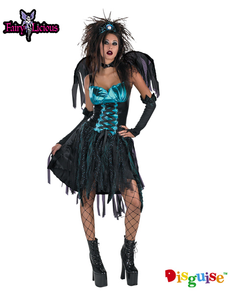 Aqua Fairy Costume for Adults