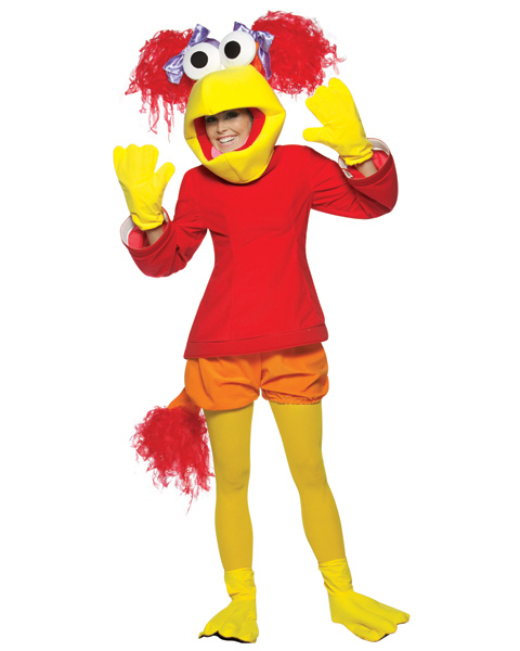 Fraggle Rock Red Womens Costume