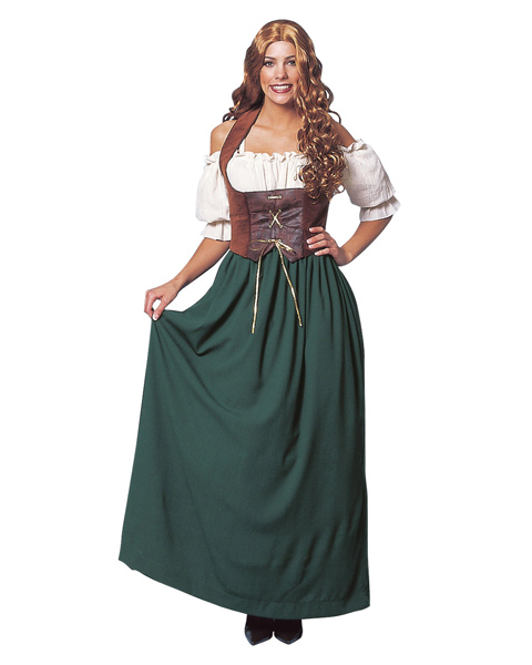 Peasant Lady Costume for Adults