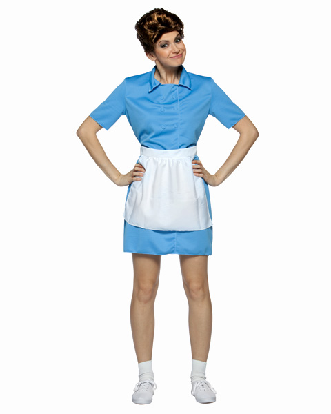 Brady Bunch Alice Womens Costume