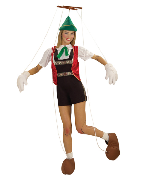 Marionette Puppet Costume for Adult