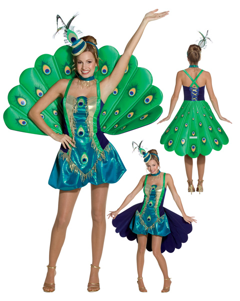 Peacock Costume For Adults