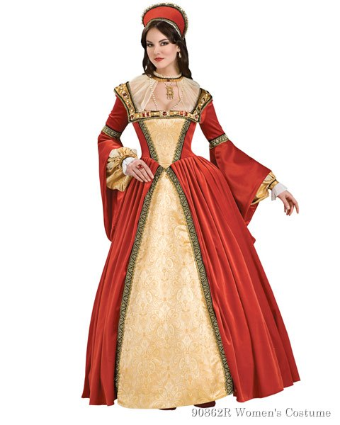 Anne Boleyn Womens Costume