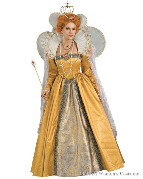 Elizabeth Womens Costume