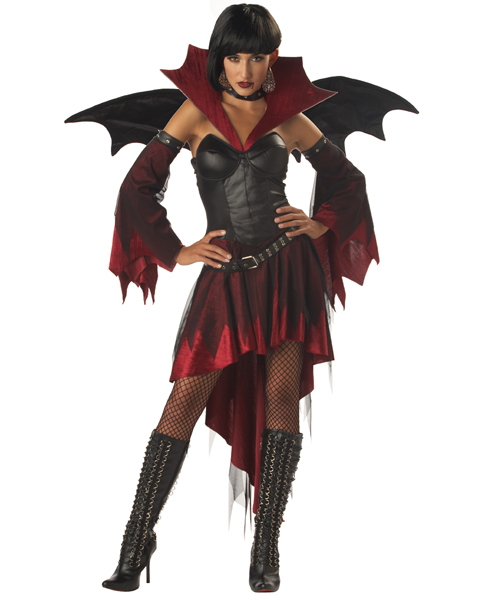 Womens Insatiable Vampire Bat Costume
