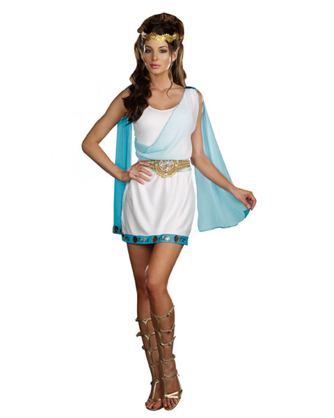 Sexy Its Chic to be Greek Women's Goddess Costume