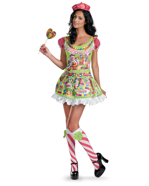 Sassy Deluxe Candyland Womens Costume