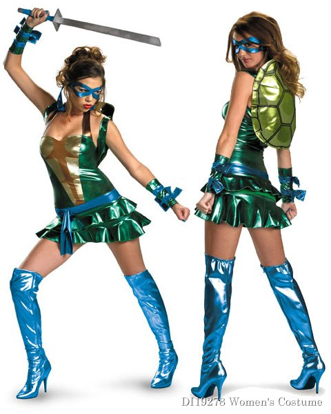 Dlx Teenage Mutant Ninja Turtles Leonardo Costume Women